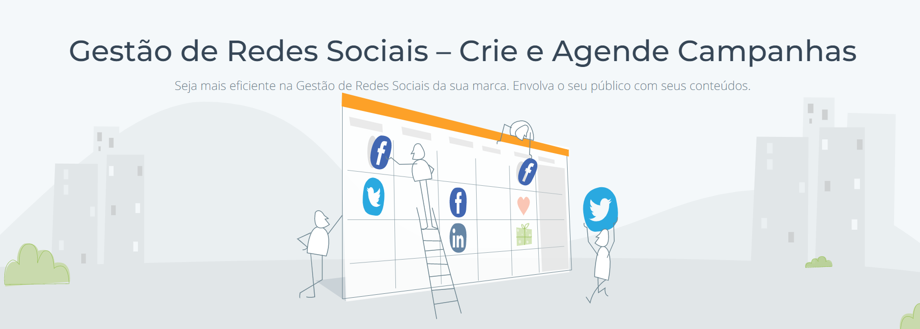 Agendamento redes sociais E-goi